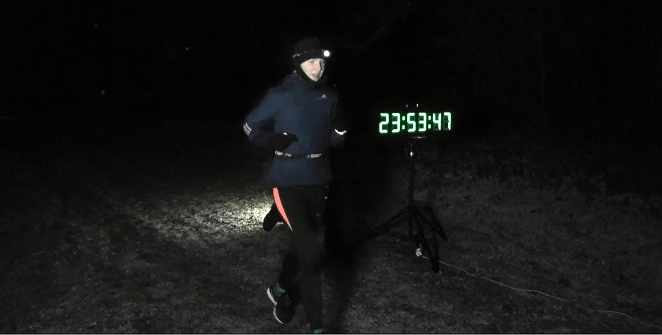 12-tunni ultrajooksu võitis Liina Kesamaa 115 km-ga