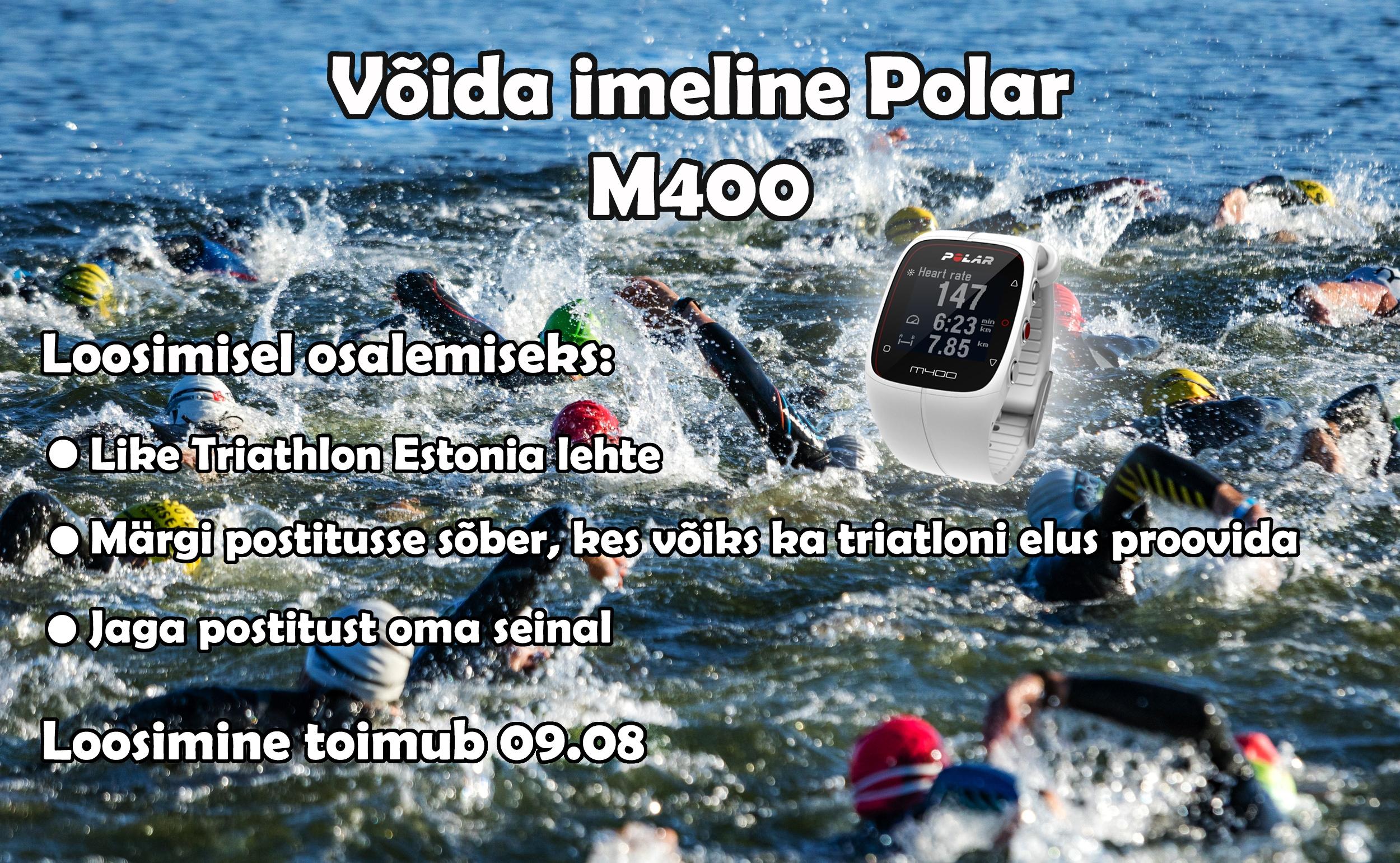 VÕIDA IMELINE POLAR M400